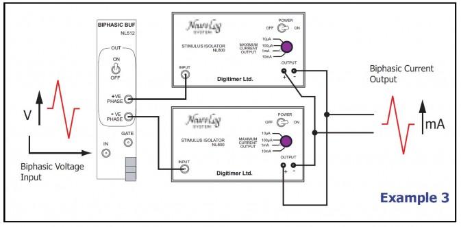 Stimulation Circuits Example-3 Digitimer