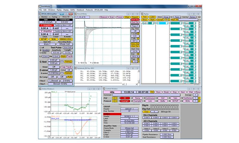 HEKA Patchmaster Software Digitimer 1
