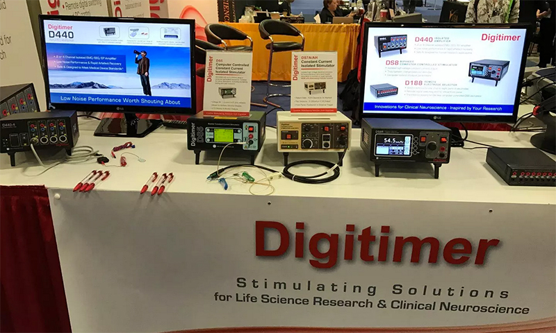 Digitimer Exhibiting in Washington