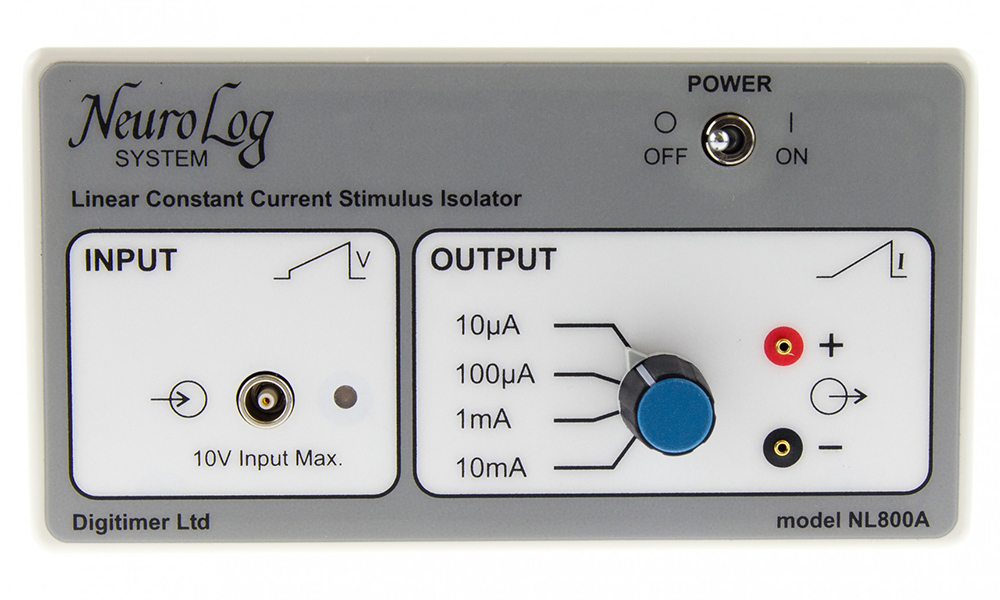 NL800A Current Stimulus Isolator 01 Digitimer