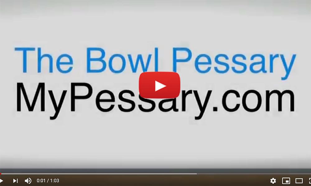 Bowl Pessary Digitimer