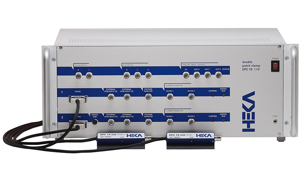 HEKA EPC10 USB Double Patch Clamp Amplifier