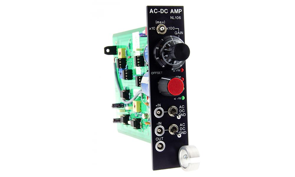 NL106 AC/DC Amplifier Digitimer 01