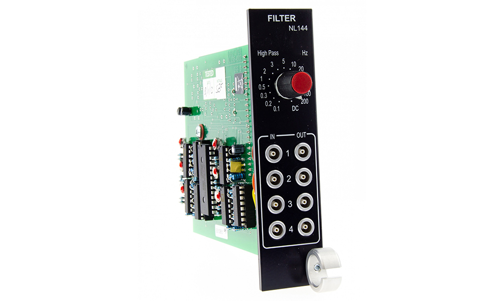 NL144 Four Channel High Pass Filter Digitimer 02
