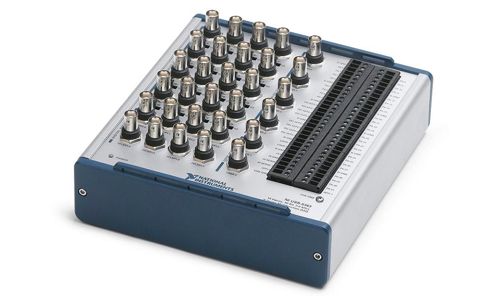 National Instruments USB-6341-BNC Digitimer 01