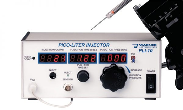PLI-10 Pico Injector Digitimer Feature