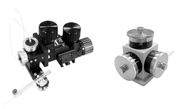 MHW-3 Three Axis Water Hydraulic Micromanipulator Digitimer