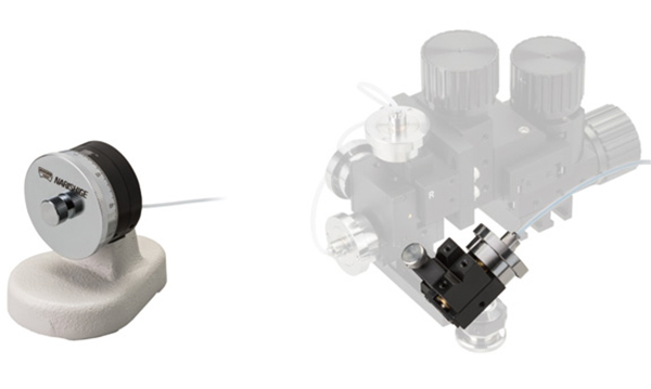 MHW-4 Single Axis Water Hydraulic Micromanipulator Digitimer Featured