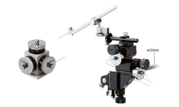 WR-6 Three Axis Water Hydraulic Micromanipulator Digitimer Featured