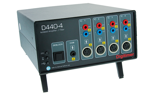 D440 2 or 4 Channel Isolated Amplifiers Digitimer