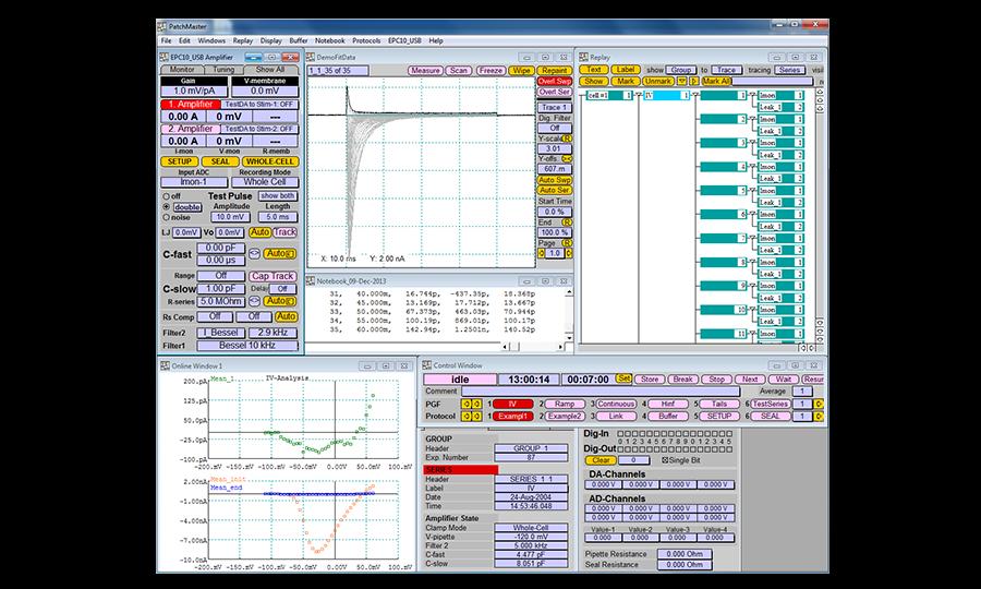 HEKA Patchmaster Software Digitimer