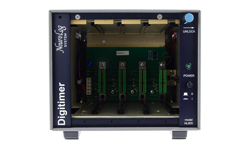 NL905 Compact NeuroLog Case Digitimer 1