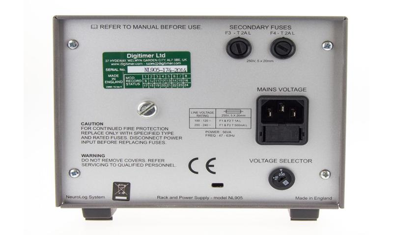 NL905 Compact NeuroLog Case Digitimer 2