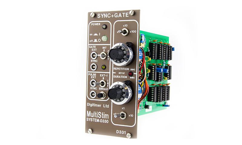 D331AT Sync & Gate Module Digitimer