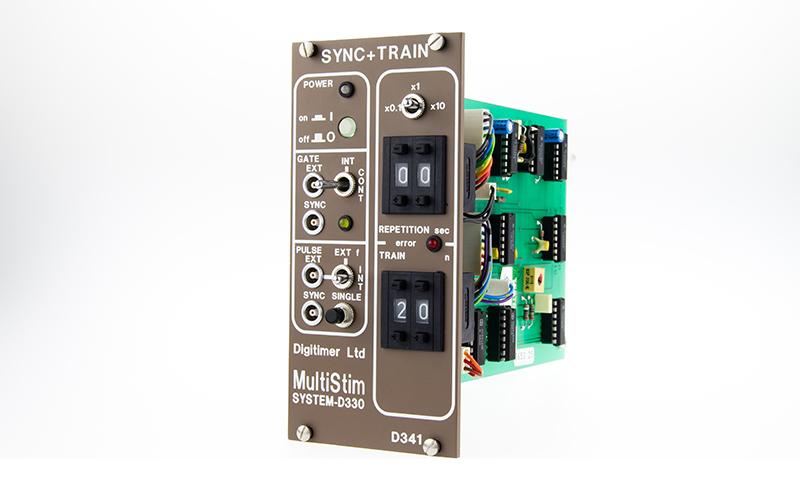 D341A Sync & Train Module Digitimer