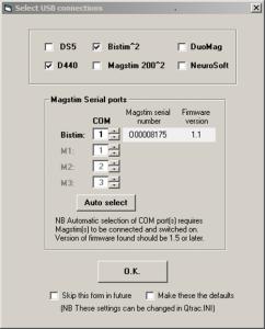 QTMS USB Menu