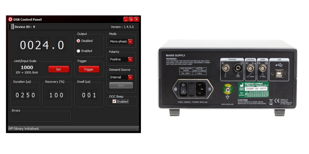 DS8R control panels