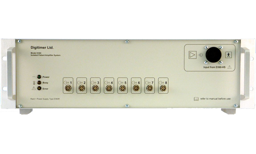 D360 8 Channel Patient Amplifier Digitimer 04