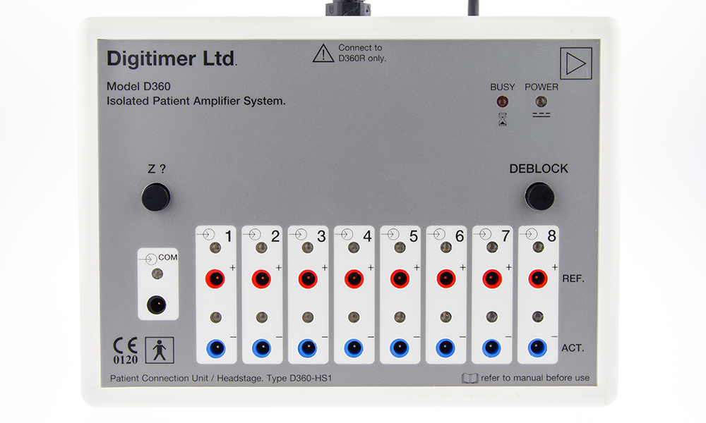 D360 8 Channel Patient Amplifier Digitimer 08