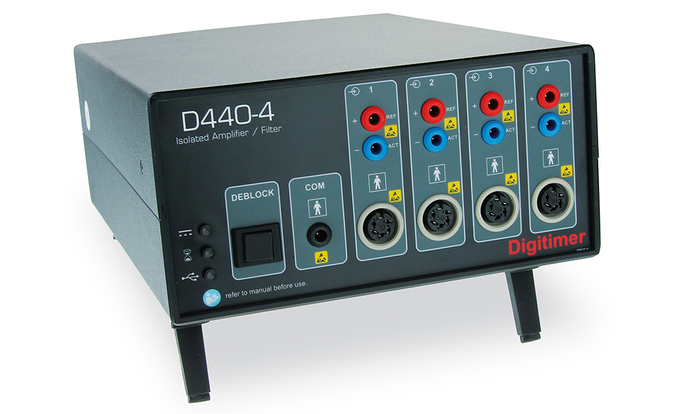 D440 2 or 4 Channel Isolated Amplifier 01 Digitimer