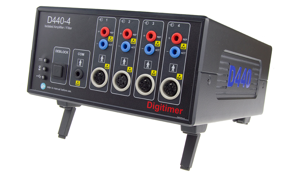 D440 2 or 4 Channel Isolated Amplifier 1 Digitimer