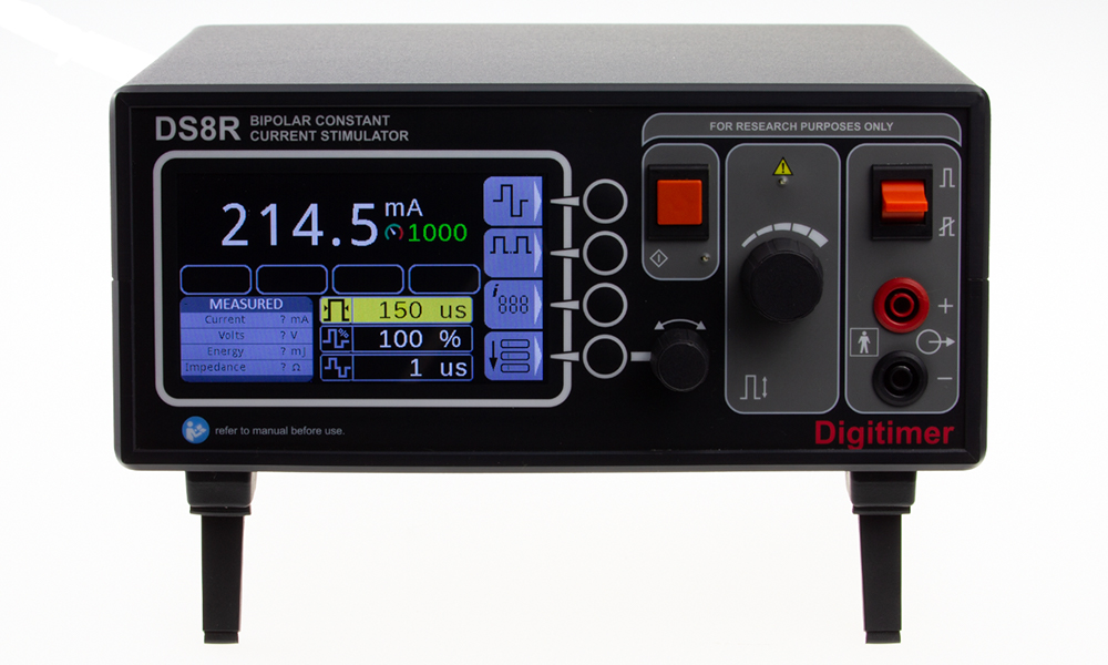 DS8R Biphasic Constant Current Stimulator 03 Digitimer