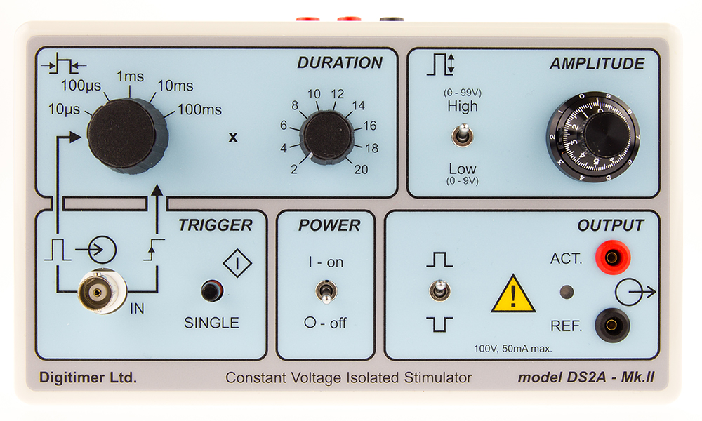 DS2A Isolated Voltage Stimulator 04 Digitimer