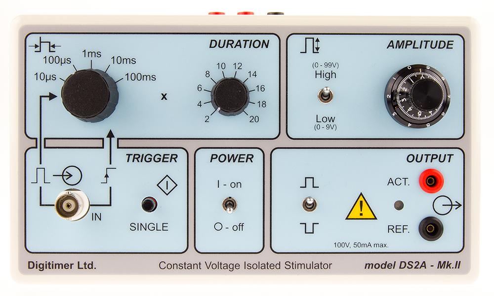 DS2A Isolated Voltage Stimulator 04 Digitimer